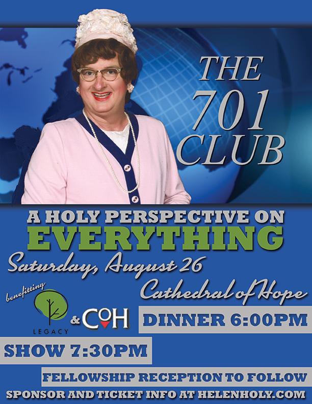 Sister Helen Holy 701 Club