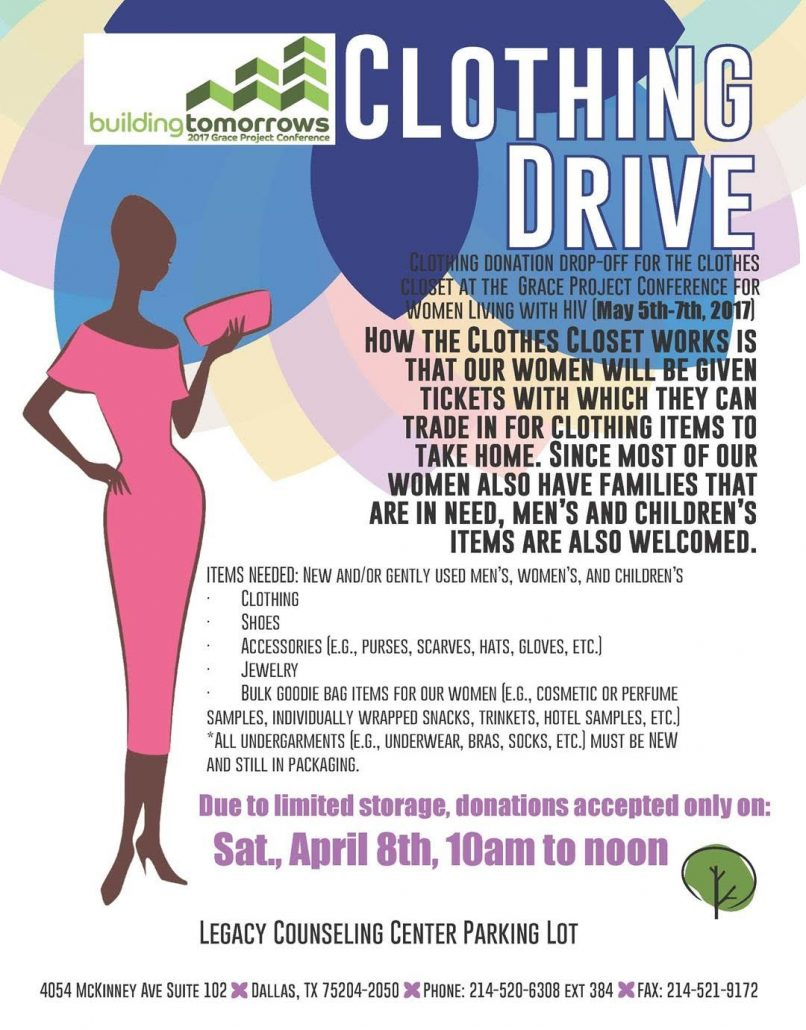 Grace Project 2017 Clothing Drive